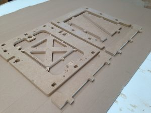 usinage structure mdf